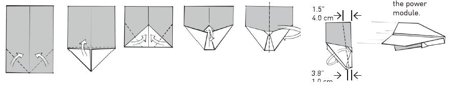 Как сделать самолёт зилке из бумаги