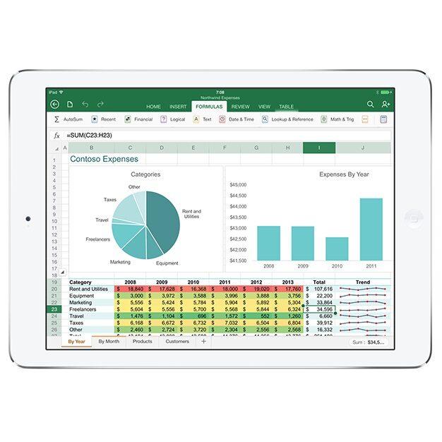 MS Office na iPada. Mobile darmowy na iPhone'a i Androida