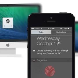 FingerKey – czytnikiem palców iPhone'a odblokujemy Maca