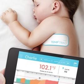 TempTraq – naklejka z termometrem i apką dla dziecka