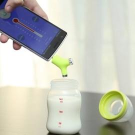 Wishbone – bezdotykowy, mobilny termometr do smartfona
