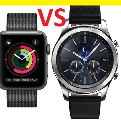Apple Watch 2 vs Gear S3