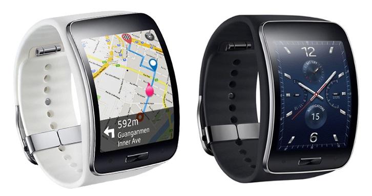 Mapy najlepiej wkorzystać się na zakrzywiony, 2-calowym Samsungu Gear S. Nie znaczy to, że klasyczna tarcza będzie się źle prezentują.