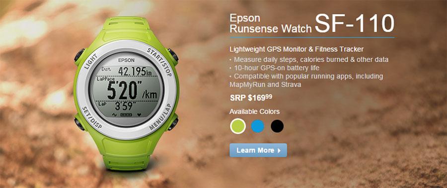 epson runsense sf-110