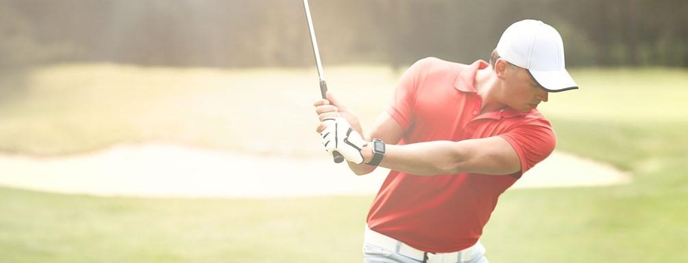 tomtom golfer grafika
