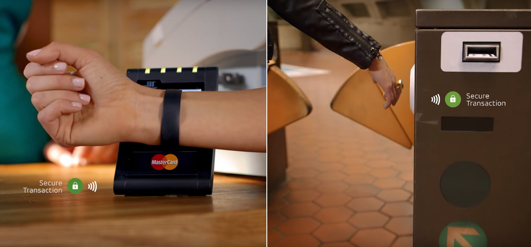 MasterCard mobile payment