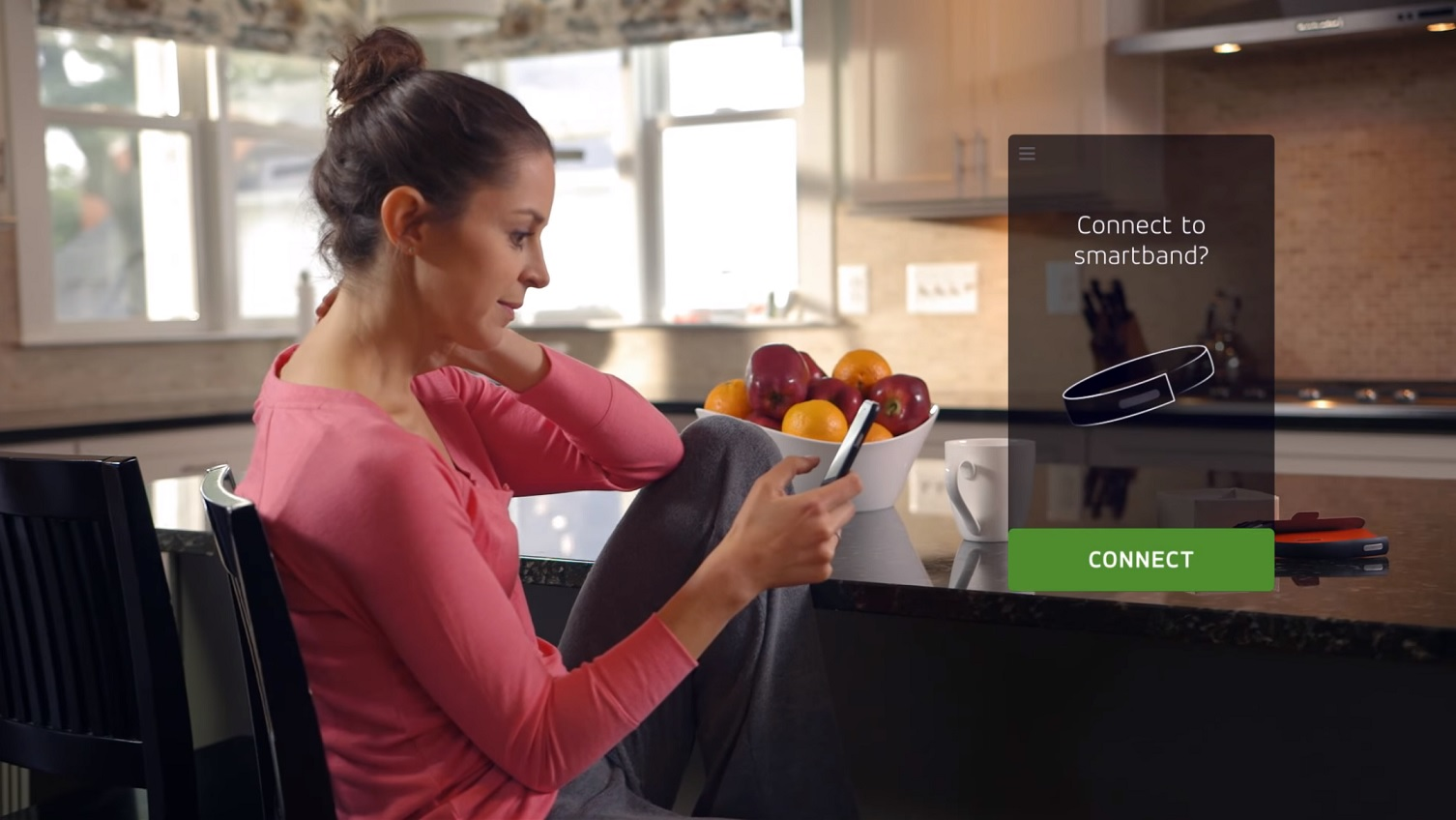 MasterCard smartband