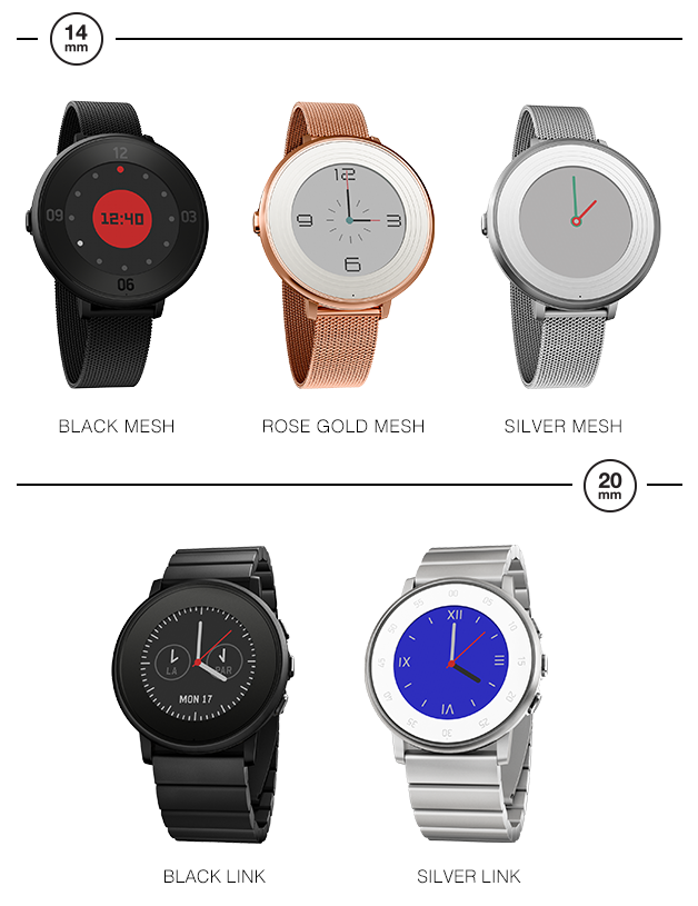 Pebble Time Round Metal Bands