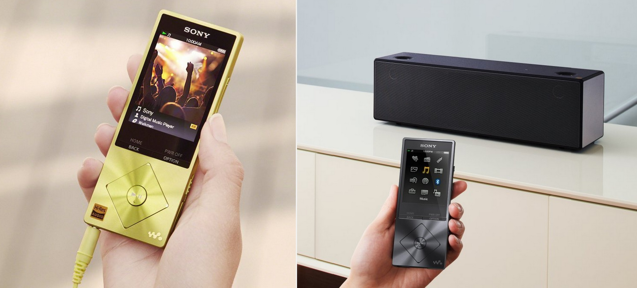 Sony NW-A20 Series