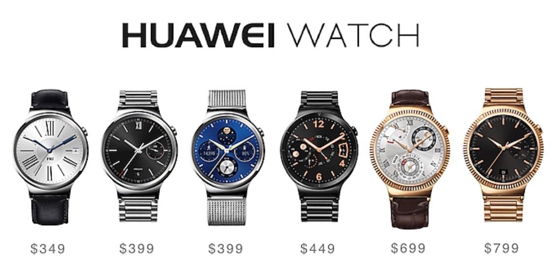 Cennik Huawei Watch.