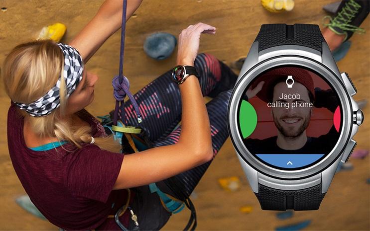 Jeśli koniecznie musicie się z kimś połączyć, a macie zajęte ręce - łączność przez LTE z LG Watch Urbane 2 poprzez głośniczek jest możliwa.