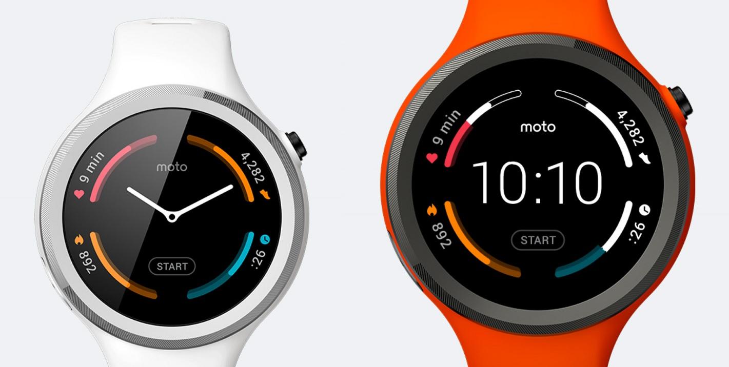Moto 360 Sport ma wbudowany GPS.