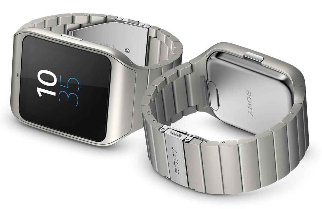 W wersji Steel Sony SmartWatch 3 wygląda elegancko.