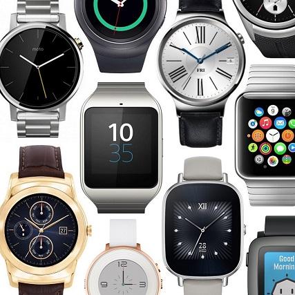 Osiem smartwatchy pod choinkę.