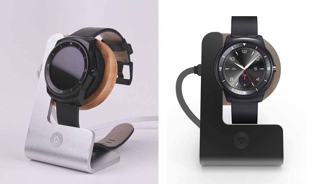 Aerios Moduul dla LG G Watch R (Android Wear).