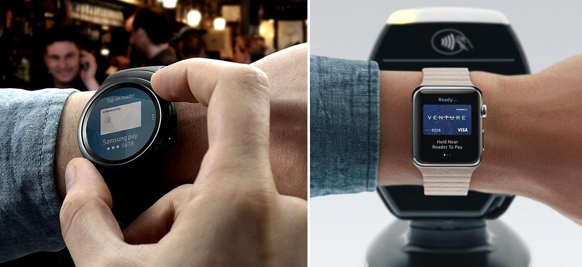 Gear S2 Apple Watch