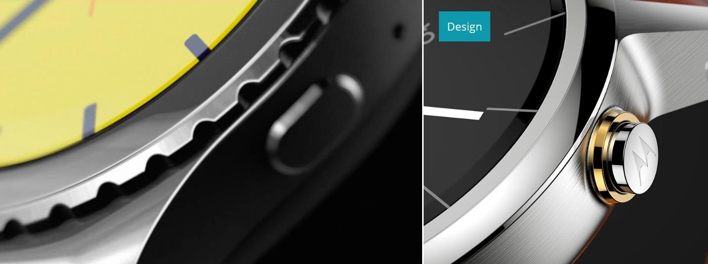 Gear S2 Bezel vs Moto button