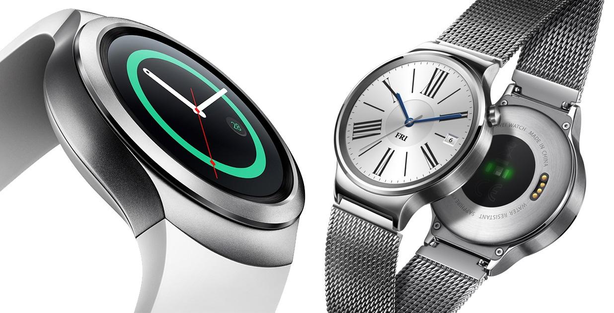 Gear S2 Huawei Watch AMOLED