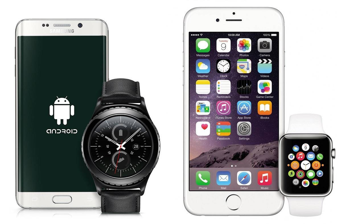 Gear S2 vs Apple Watch connectivity