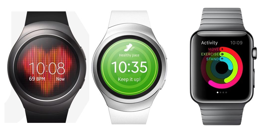 Gear S2 vs Apple Watch fitness