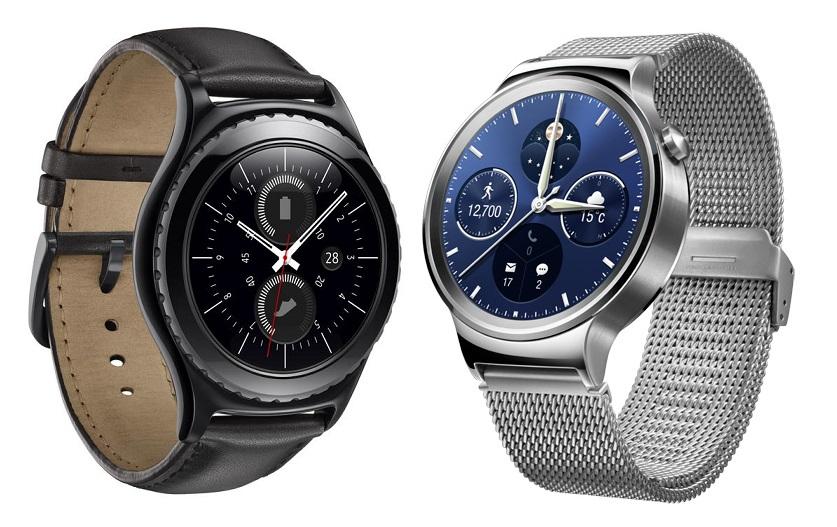 Gear S2 vs Huawei Watch