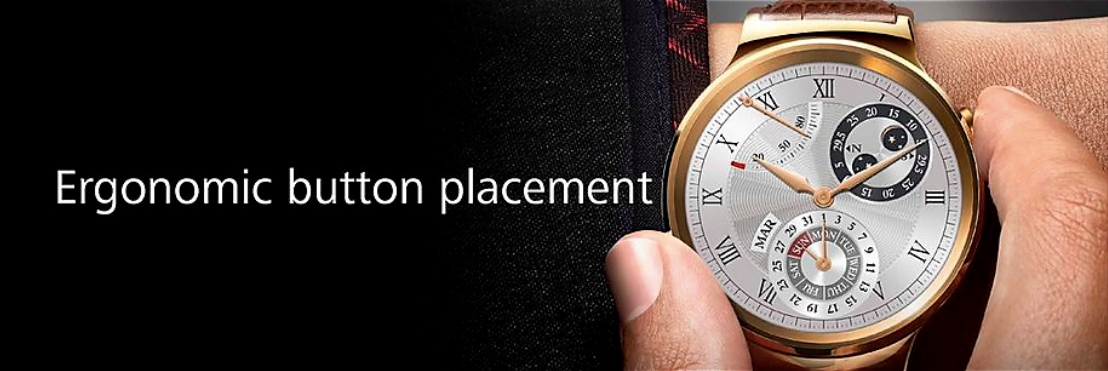 Huawei Watch Button
