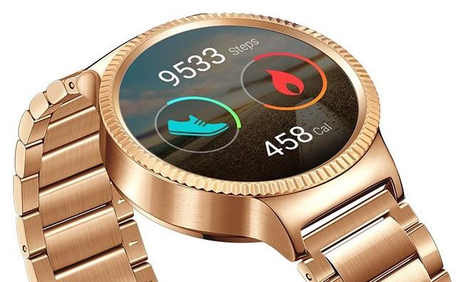 Funkcje fitness i złoty Huawei Watch (trochę nie do pary).