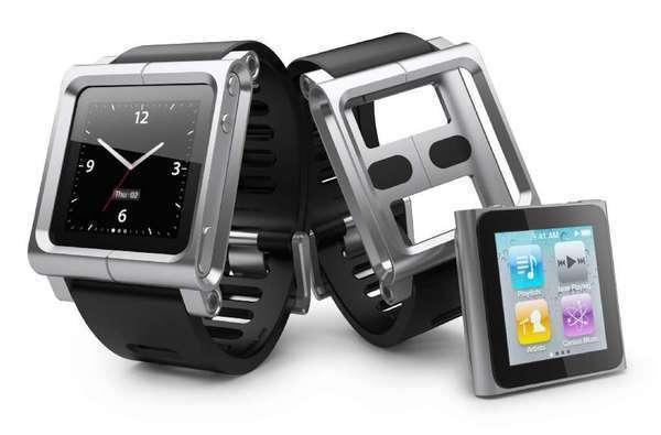 iPod Nano 6G z paskiem od Lunatik.