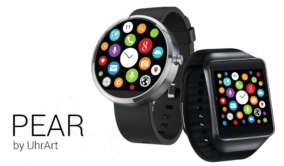 Apka Pear to dowód na to, że i smartwatch Android Wear może imitować systemik WatchOS od Apple.