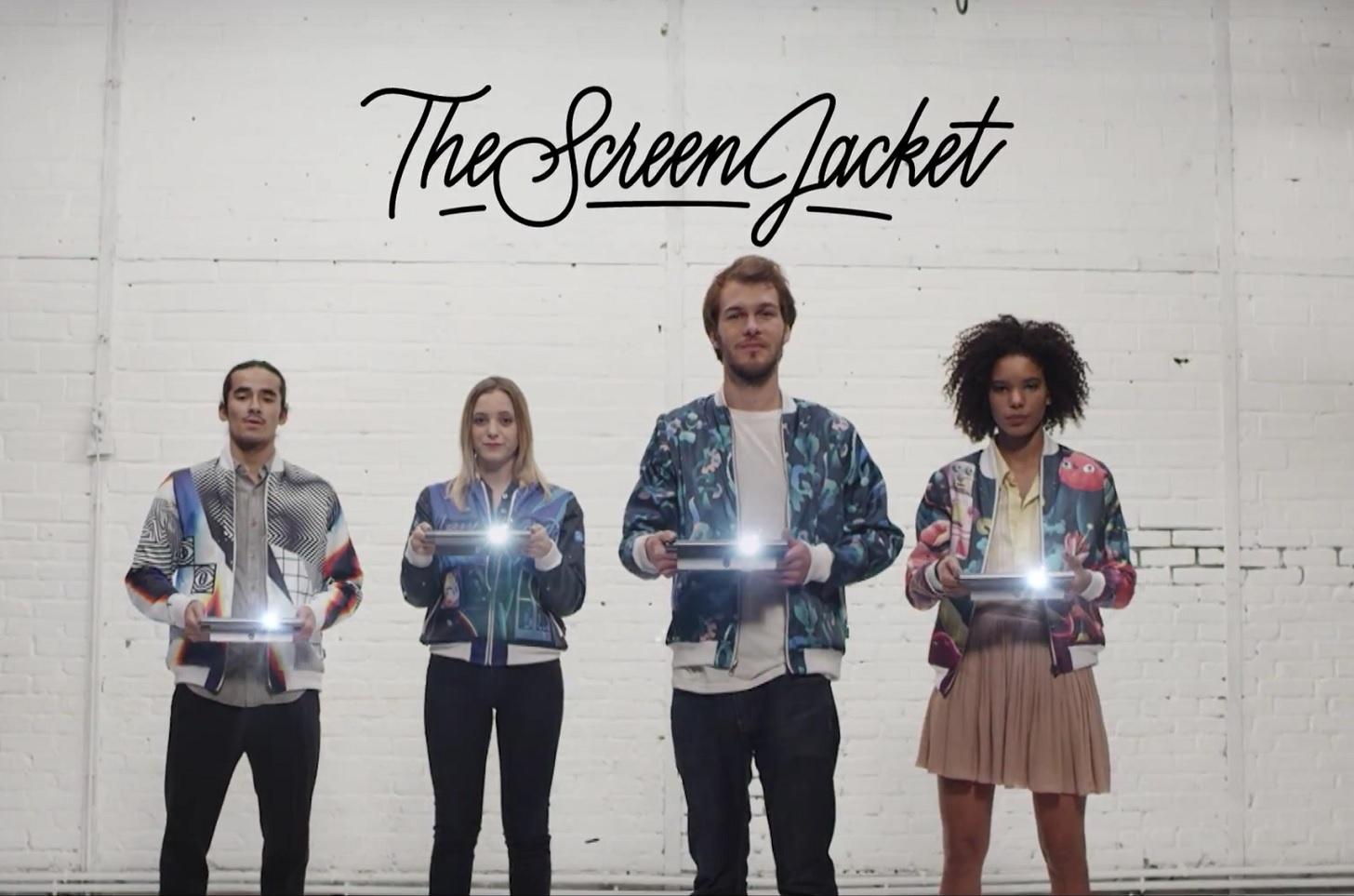 Screen Jacket