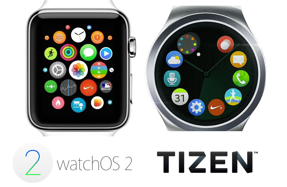 watchOS 2 vs Tizen