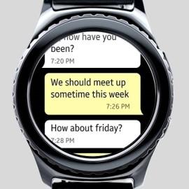 Chat Hub na Gear S2 – komunikator tekstowy wprost z zegarka