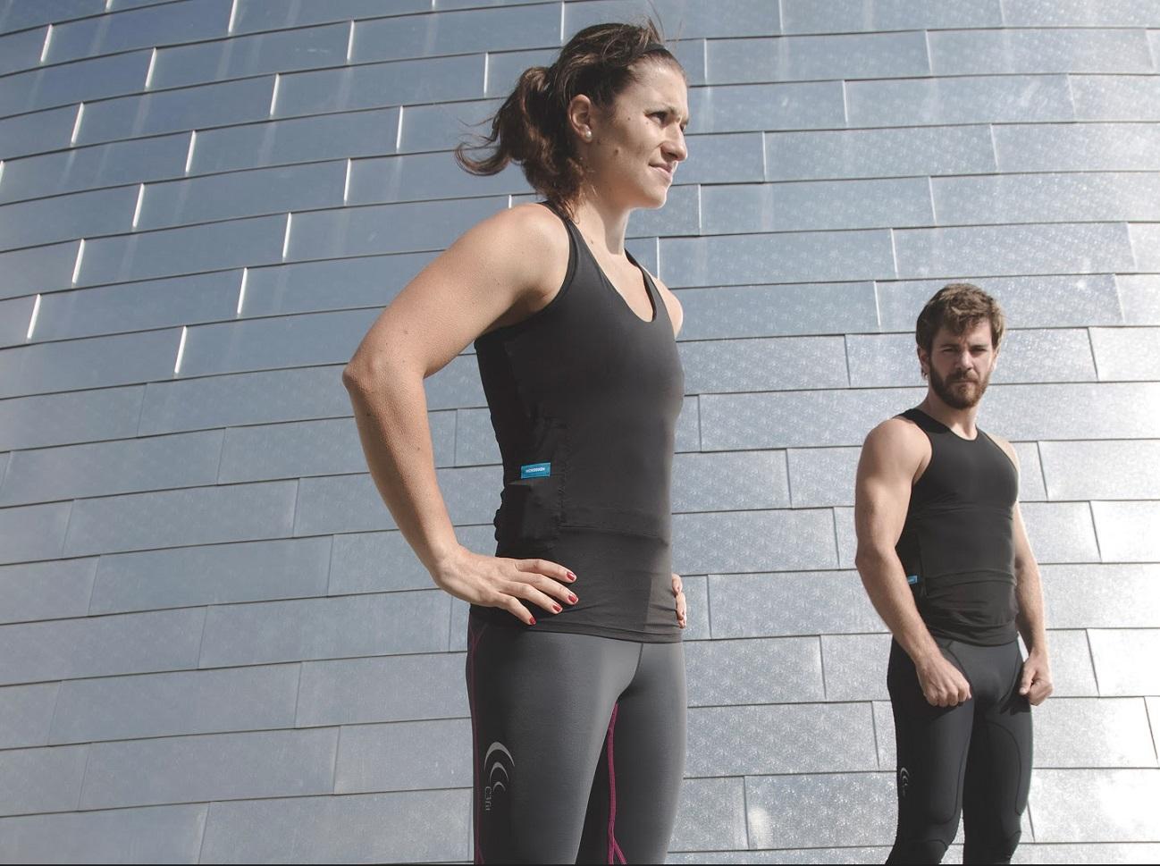 Hexoskin Smart strój sportowy