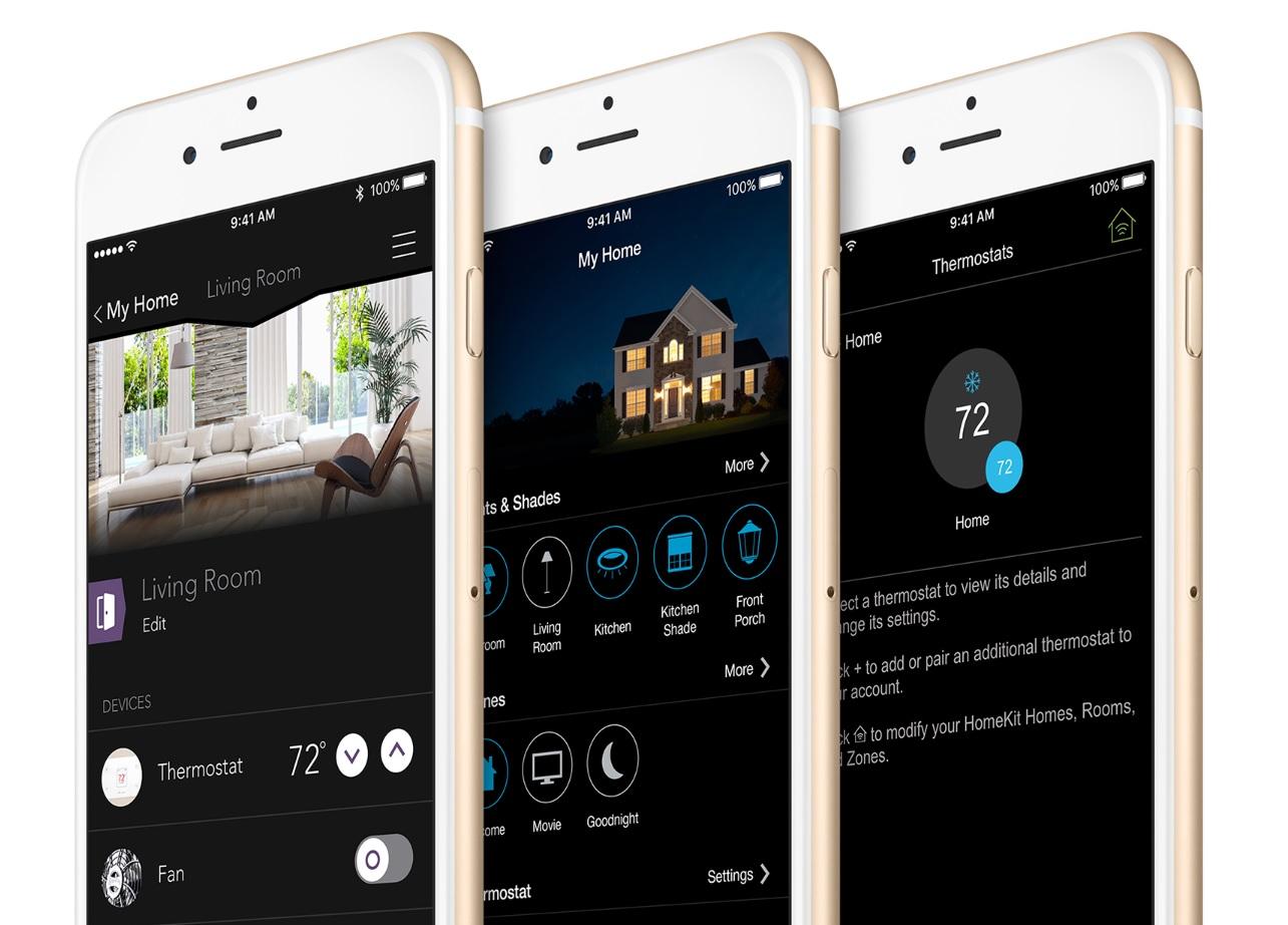 Kompatybilne wyposażenie można łączyć przez apkę HomeKit na iPhone'ach.