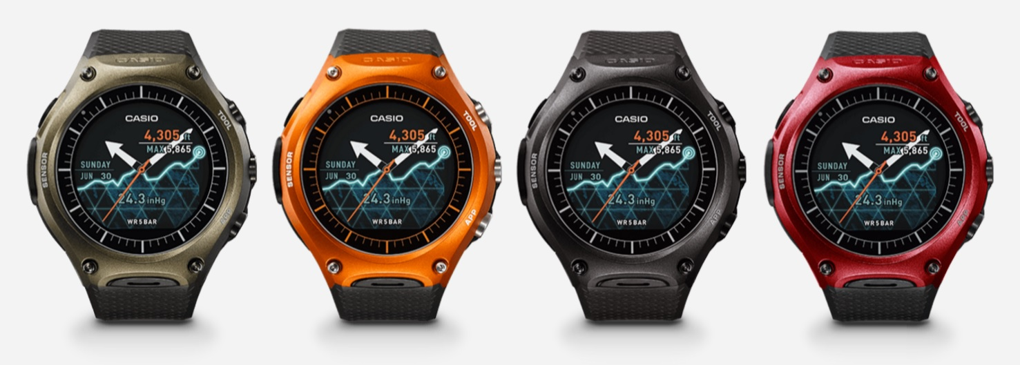 android wear casio