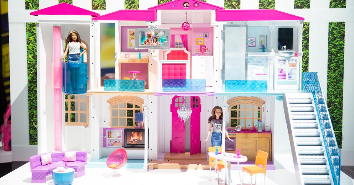 Hello barbie dreamhouse lalki zamieszkaj w smart domu for Dream house website