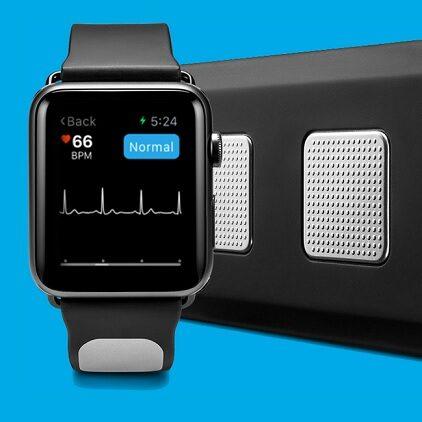 AliveCor Kardia – pasek z EKG dla Apple Watcha