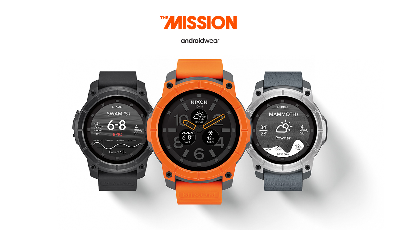Nixon Mission Android Wear