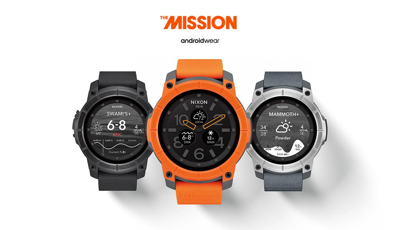 Nixon Mission Android Wear