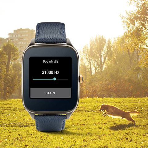dog whistle Android Wear