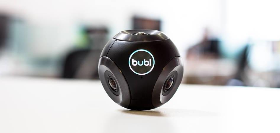kamerki sferyczne - Bublcam
