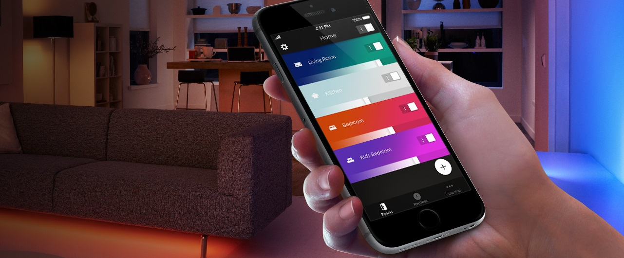 Hue 2.0 app