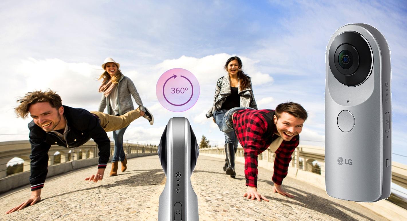 kamerki sferyczne - LG 360 VR