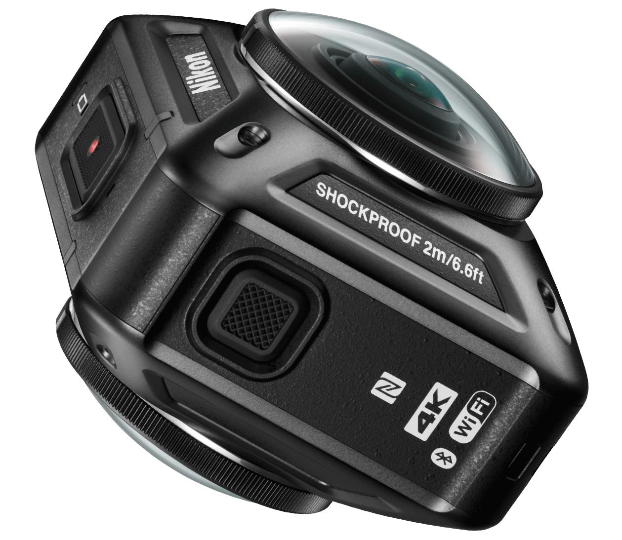 kamerki sferyczne - Nikon KeyMission 360