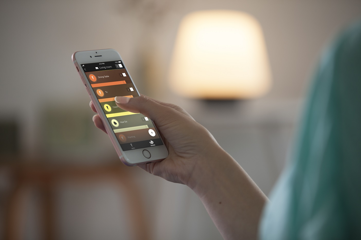 Philips Hue app 2.0