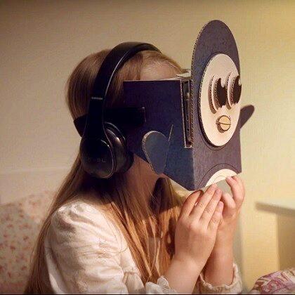 Samsung BedTime VR Stories – gogle z dobranocką