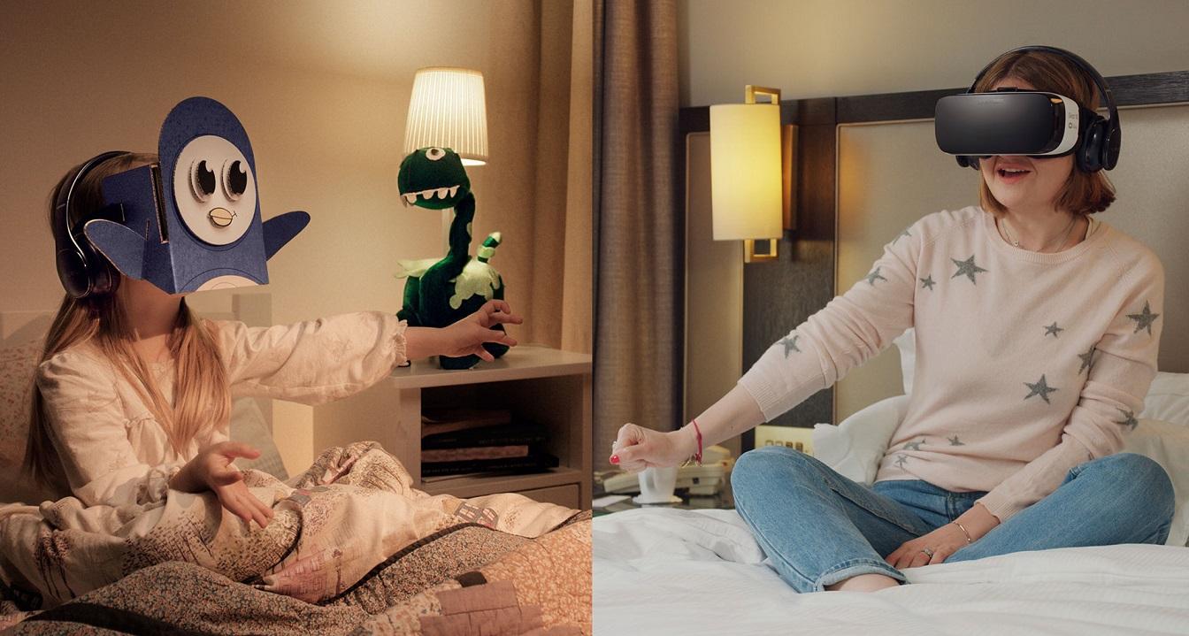 Samsung BedTimes VR Stories