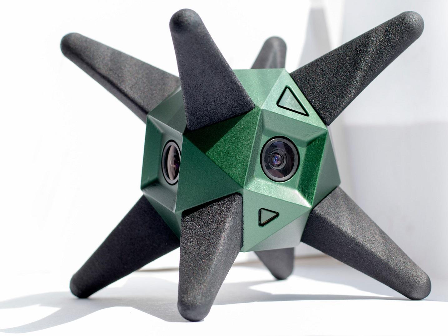 kamerki sferyczne - Sphericam 2 4K