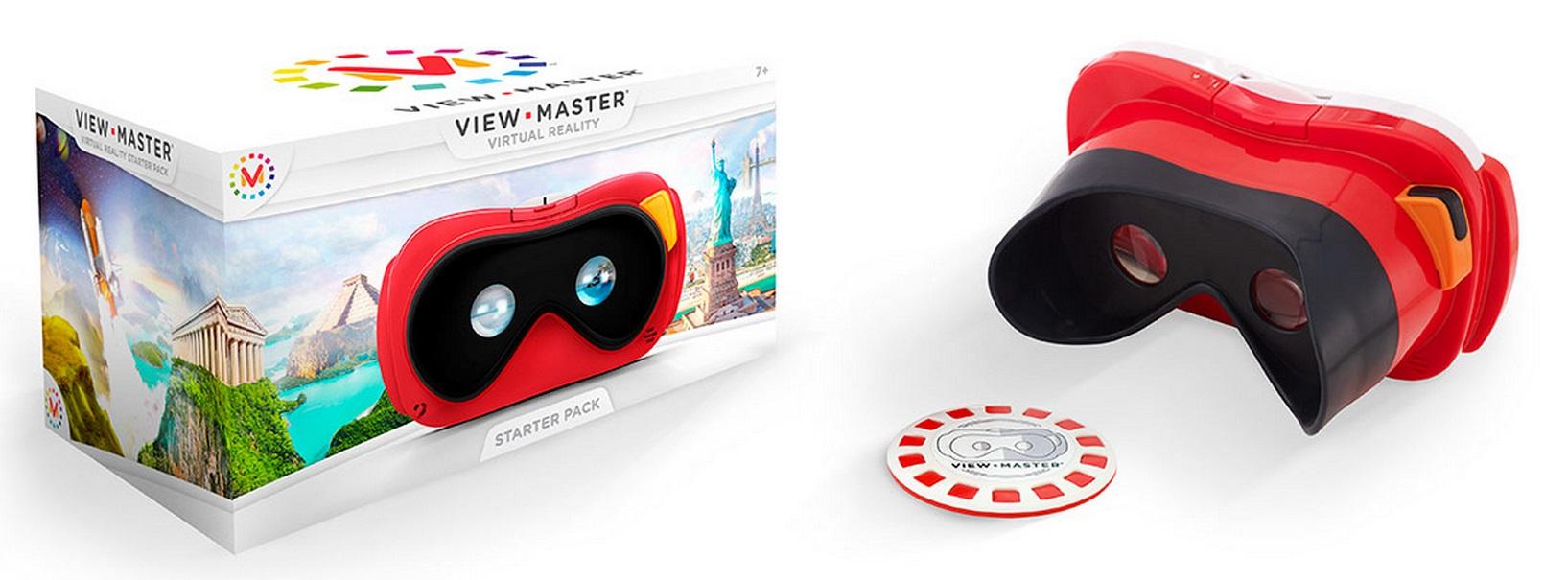 View-Master to odmiana od Mattel. Gogle są wspierane rozwiązaniami Rzeczywistości Rozszerzonej.