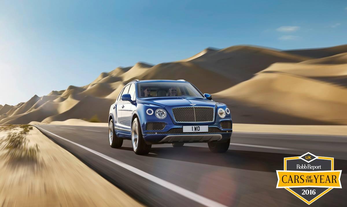O tym SUVie mówimy. Bentley Bentayga (od 130 tys. funtów).